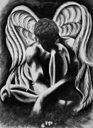 Michael Print by Mallika
