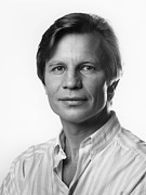 Michael Photo Framed Prints - Michael York Framed Print by Mark Greenberg