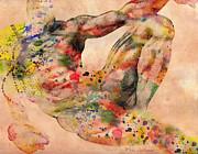 Michelangelo  Print by Mark Ashkenazi