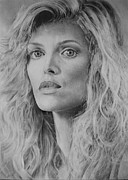 Michelle Pfeiffer Framed Prints - Michelle Pfeiffer Framed Print by Damir Kulusic