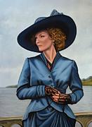 Michelle Pfeiffer Print by Paul  Meijering