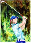 Sports Illustrated Posters - Michelle Wie Poster by Dave Olsen