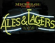 Michelob Posters - Michelob ales and lagers Poster by Steven Parker