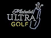 Photogrpah Posters - Michelob Ultra Golf Poster by Steven Parker