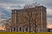 Detroit Photography Posters - Michigan Central Station Poster by John McGraw