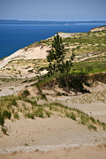 Dunes Digital Art Prints - Michigan Sleeping Bear Dunes Print by Christina Rollo