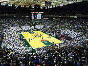 Basketball Posters Prints - Michigan State Spartans Jack Breslin Student Events Center Print by Replay Photos