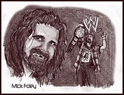 Chris  DelVecchio - Mick Foley