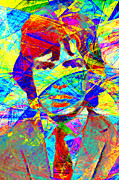 Musicians Digital Art Prints - Mick Jagger 20130613 Print by Wingsdomain Art and Photography