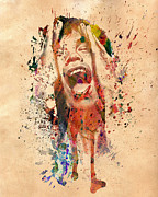 The King Art - Mick Jagger by Mark Ashkenazi