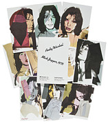 Andy Warhol - Mick Jagger Suite of 10