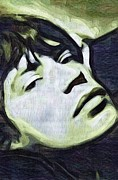 Mick Mixed Media - Mick Jagger by Tim Knowles