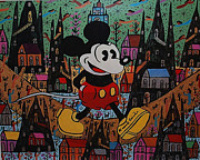 Howard Finster - Mickey Mouse