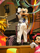 Disneyland Photos - Mickey Mouse by Trish Tritz