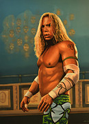 Wrestler Prints - Mickey Rourke Print by Paul  Meijering