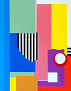 Graphics Paintings - Mid Century Compromise by Thomas Gronowski