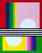 Graphics Paintings - Mid Century Resolution by Thomas Gronowski