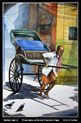 Puller Paintings - Mid day light by RD Roy