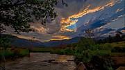 Darrell E Spangler - Mid-Summer Sunset