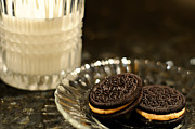 Oreo Metal Prints - Midnight Snack Metal Print by Lois Bryan