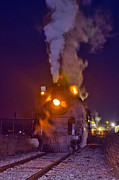 Boiler Photo Originals - Midnight Train by Brian Lambert