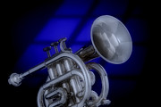 Music Photos - Midnight Trumpet by M K  Miller