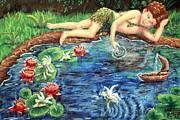 Midsummer Daydream Print by Dawna Morton
