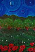 Fruit Tree Art Originals - Midsummer Night by jrr by First Star Art
