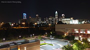 Mecklenburg County Prints - Midtown Charlotte Nights Print by Maurice Smith