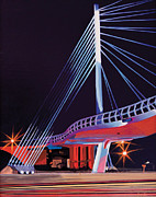 Photo Realism Photos - Midtown Greenway Sabo Bridge by Jude Labuszewski
