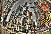 City Streets Posters - Midtown Manhattan 2 Poster by Mike Lindwasser Photography