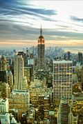 Limitless Prints - Midtown Manhattan and Empire State Building New York City Print by Sabine Jacobs