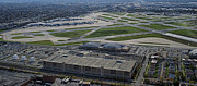 Midway Airport Photos - Midway Airport Chicago AirPlanes 02 by Thomas Woolworth