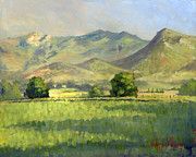 Utah Paintings - Midway Between Heaven and Earth by Jeff Brimley