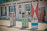 Route 66 Photos - Midway Station by Jak of Arts Photography