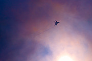 Conditions Photo Framed Prints - MiG-29 Against The Sun - Featured 3 Framed Print by Alexander Senin