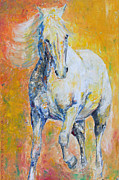 Southwestern Paintings - Mighty Mare by Jennifer Morrison Godshalk