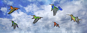 Hummingbirds Prints - Migration  Print by Betsy A Cutler East Coast Barrier Islands