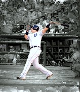 Stands Mixed Media - Miguel Cabrera by Bob Newland