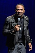 Celebrity Images Prints - Mike Epps 10 Print by Elgin Edmonds