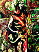 Kevin J Cooper Artwork Paintings - Mike Gordon at Deer Creek by Kevin J Cooper Artwork
