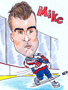 Paul Nichols - Mike Green Caricature