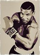 Mike Tyson Poster Art Print by Florian Rodarte