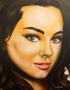 Famous People Painting Originals - Mila by Darren Robinson