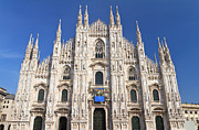 Big Blue Marble Photo Prints - Milan cathedral  Print by Antonio Scarpi