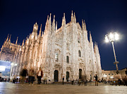 Old Milano Photos - Milan Cathedral Duomo Italy by Michal Bednarek