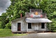 General Stores Prints - Miles Country Store Print by Benanne Stiens