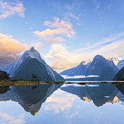South Island Posters - Milford Sound New Zealand Poster by Colin and Linda McKie