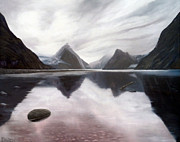 Milford Sound New Zealand Print by Dawson Taylor