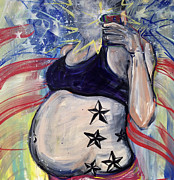 Pregnancy Originals - Military Mama Selfie by Mary Gallagher-Stout